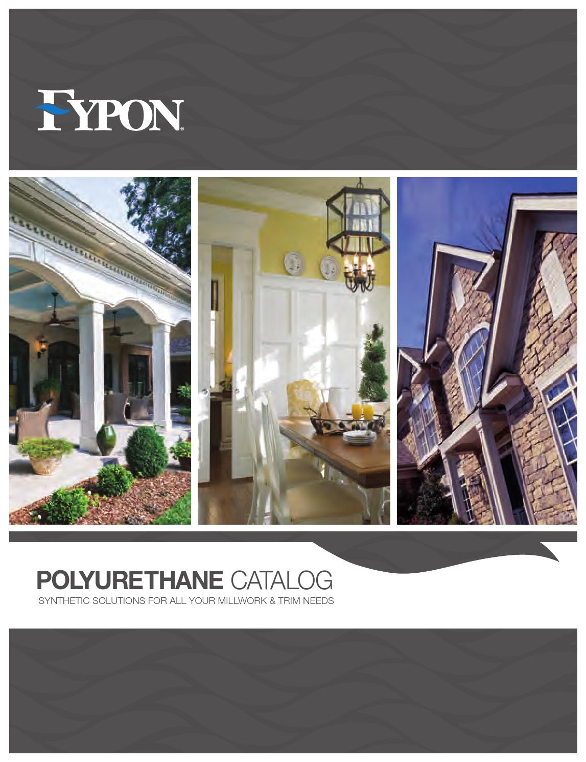 Fypon catalog by western building products issuu for Fypon millwork