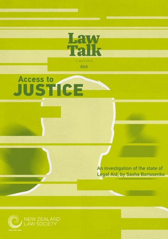 Lawtalk 868 By Nz Law Society Issuu