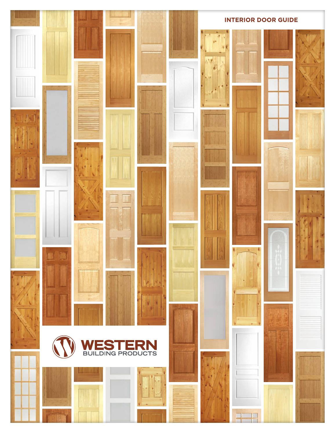 Western Interior Door Brochure By Western Building Products Issuu