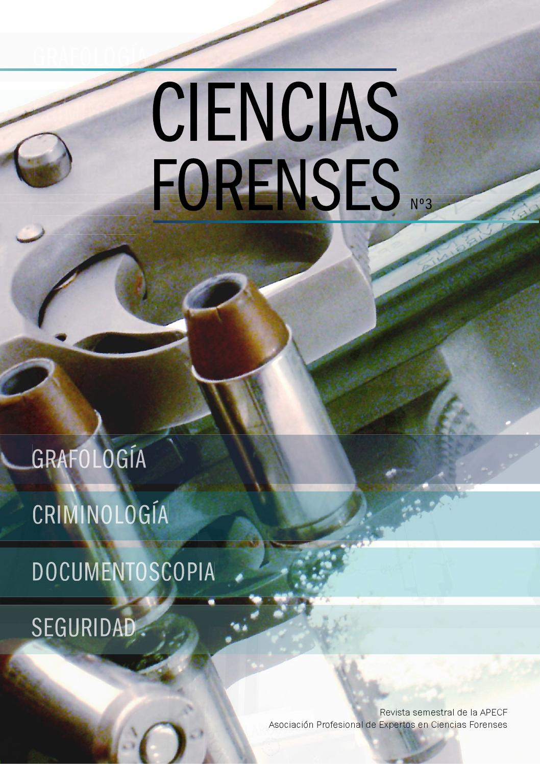 Revista Ciencias Forenses, nº 3 by Iván R. Cortés - issuu