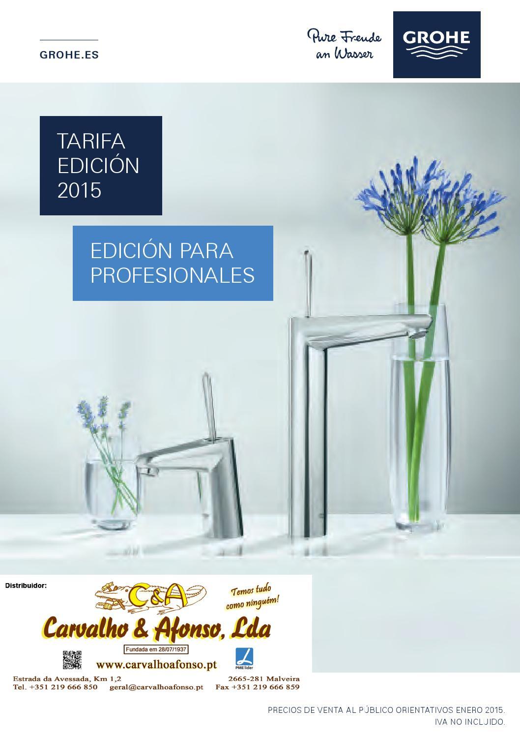 Grohe tarifa edicion 2015 web ca parte1 by carvalho for Tarifa grohe
