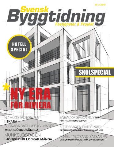Svensk Byggtidning 3 15 by Stordåhd Kommunikation AB - issuu 6f705cc50d33a