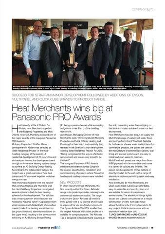 Plumbing And Heating Magazine Issue66 By Karen Mcavoy Publishing Issuu