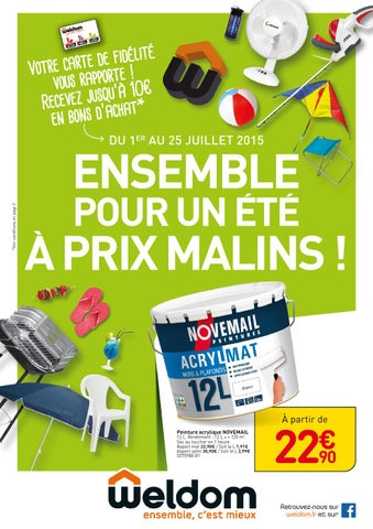 Weldom Catalogue 1 25juillet2015 By Promocatalogues Com Issuu
