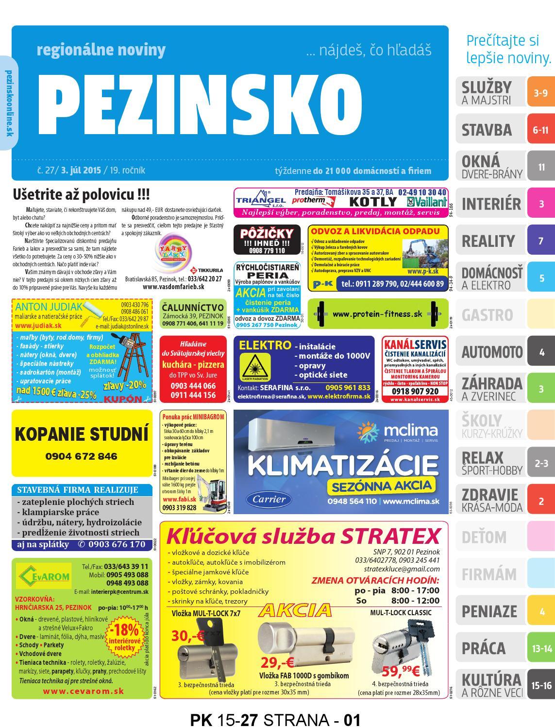 da3736b1b0 PEZINSKO 15-27 by pezinsko - issuu
