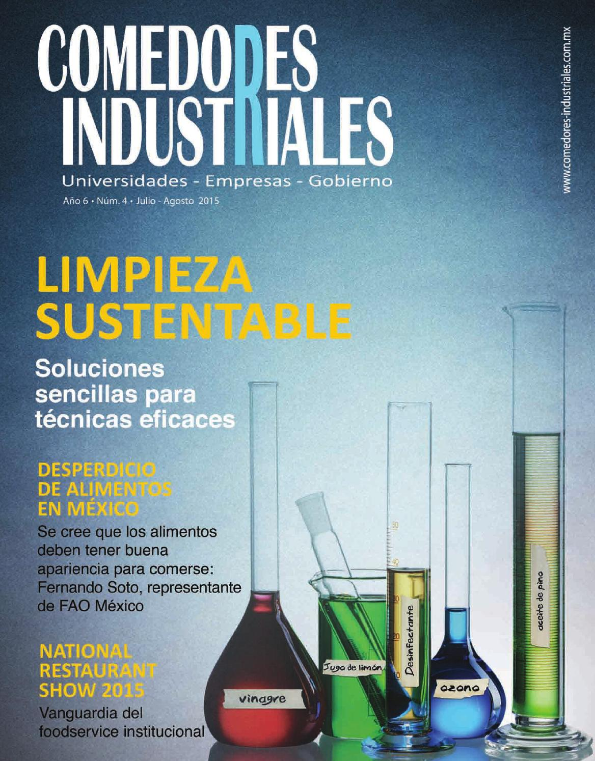 Comedores Industriales Julio Agosto 2015 By Editorial