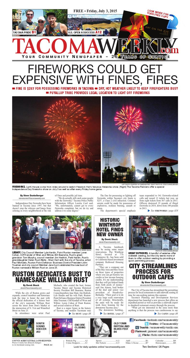 Twa 7 03 15 p01 by Tacoma Weekly News - issuu