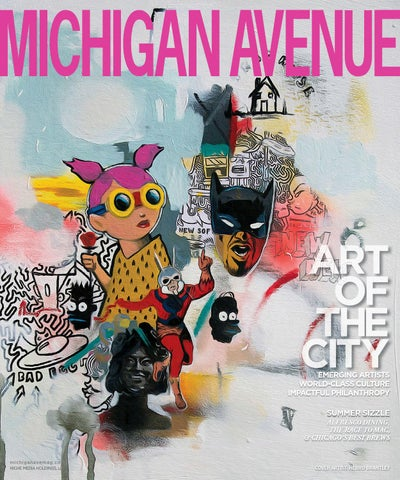 87e3a08480dbb Michigan Avenue - 2015 - Issue 4 - Summer - Art of the City - Hebru ...