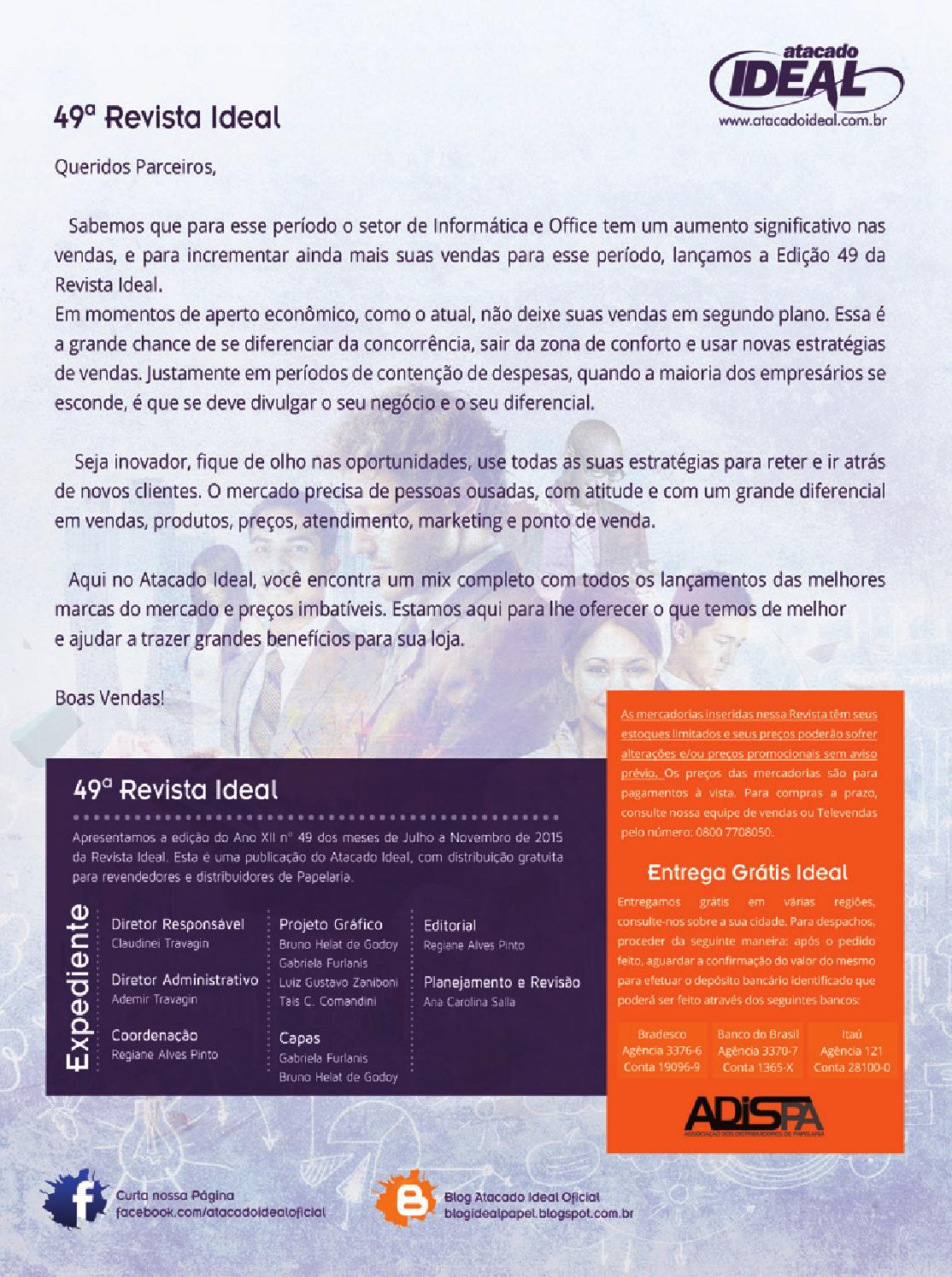 71c9ad50c4 Revista 49 escolar 3 200 by Ideal Atacado - issuu
