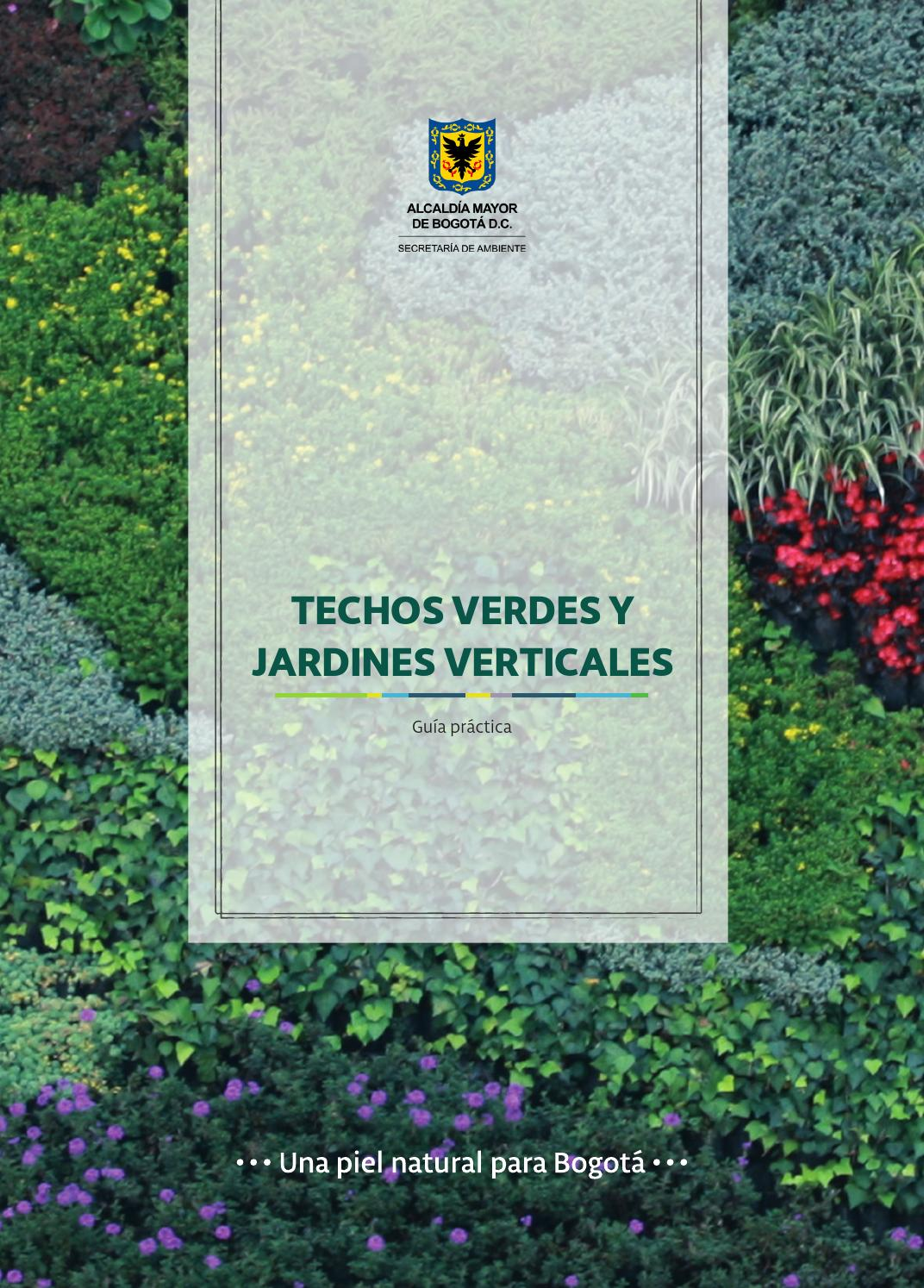Gu a de techos verdes y jardines verticales by sda2015 issuu for Jardineros ltda