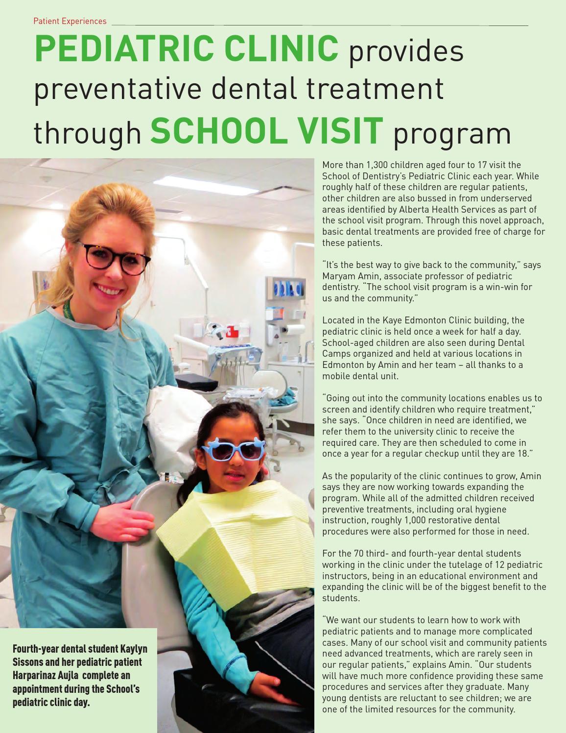 School of Dentistry Community Report 2015 by University of