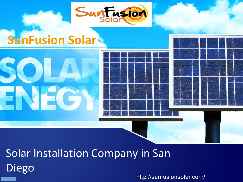 Solar Installation Company And Service Provider In San