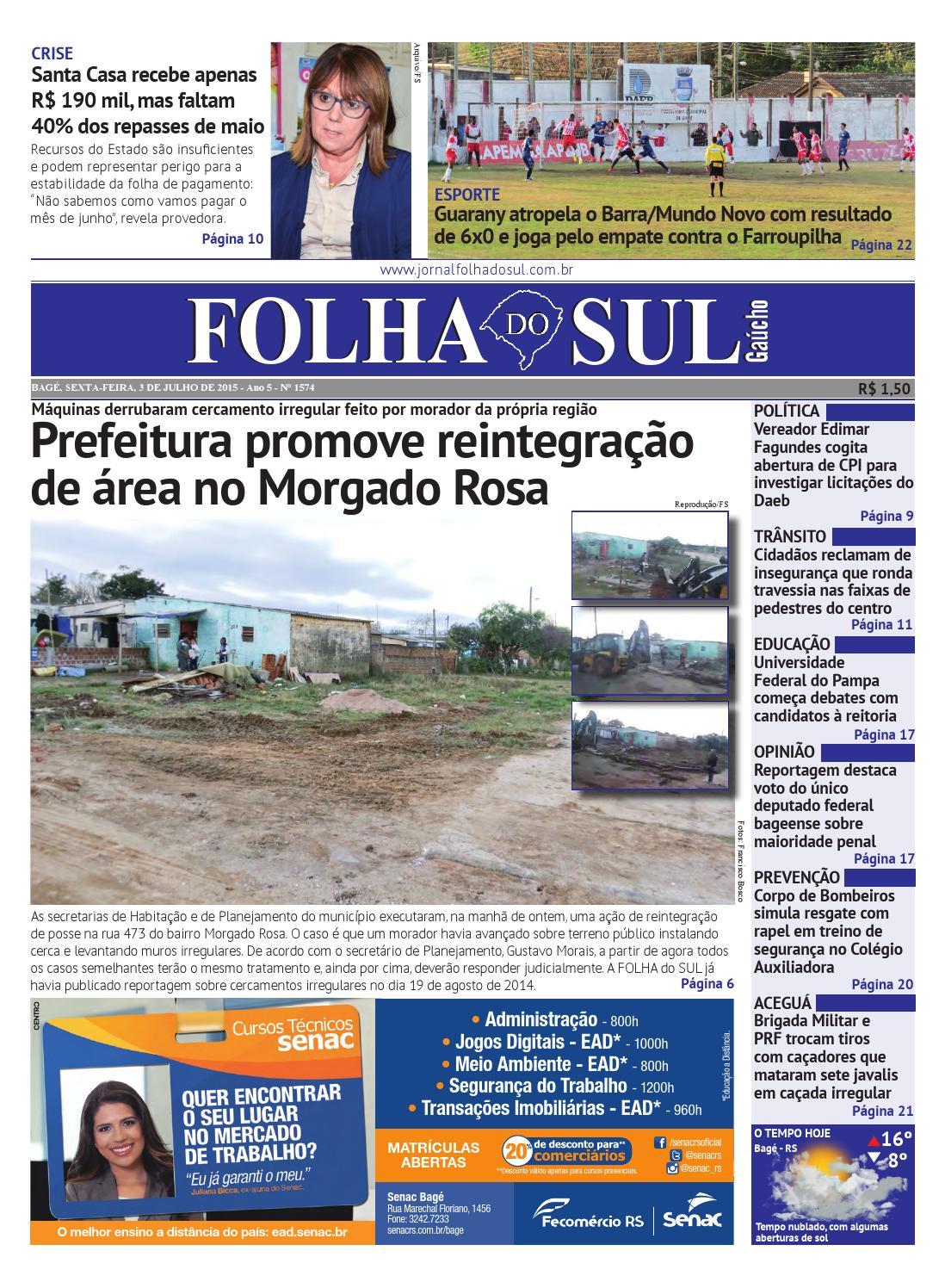 Jornal Folha do Sul, 3 de julho de 2015 by Folha do Sul Gaúcho - issuu fcb9f0a8b7