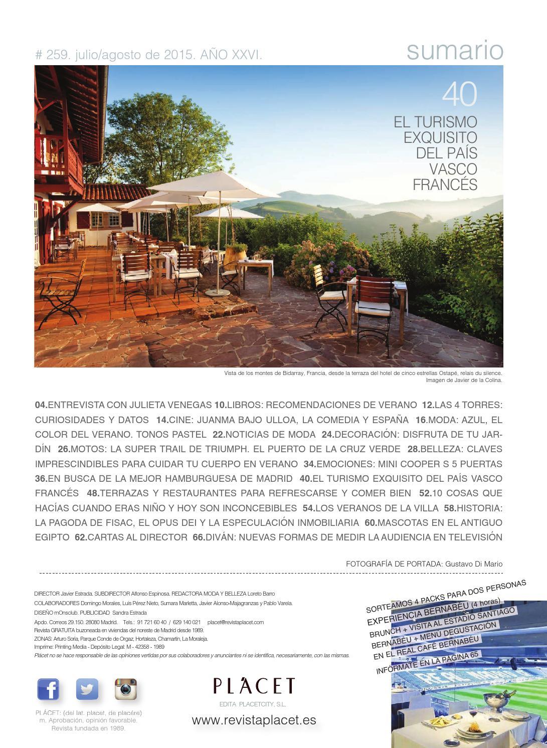 Revista Placet Julio 2015 By Plácet Issuu