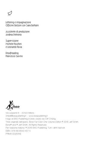 Bone - L integrale - Edizione a colori Preview by BAO Publishing - issuu a7983d885fe