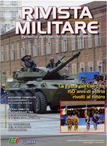 RIVISTA MILITARE 2011 N.2 by Biblioteca Militare - issuu 1a1f063db8ba