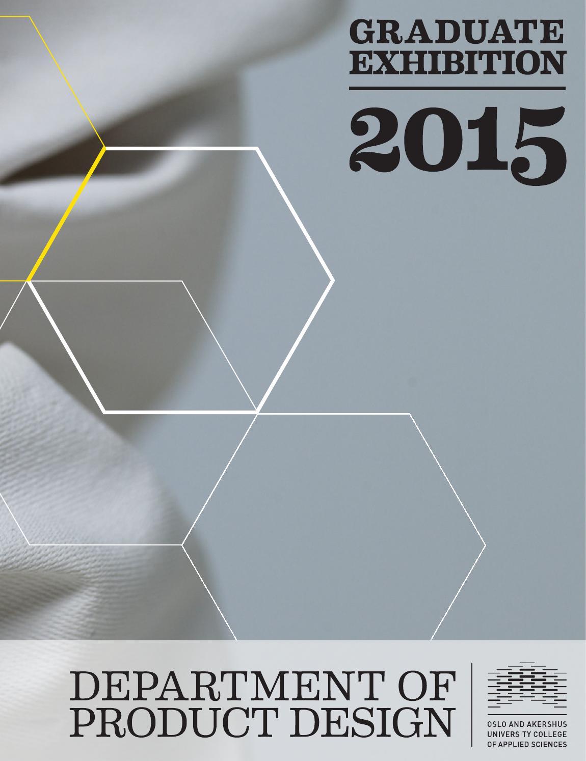 HiOA Product Design BA+MA 2015 by OsloMet – Oslo Metropolitan ...