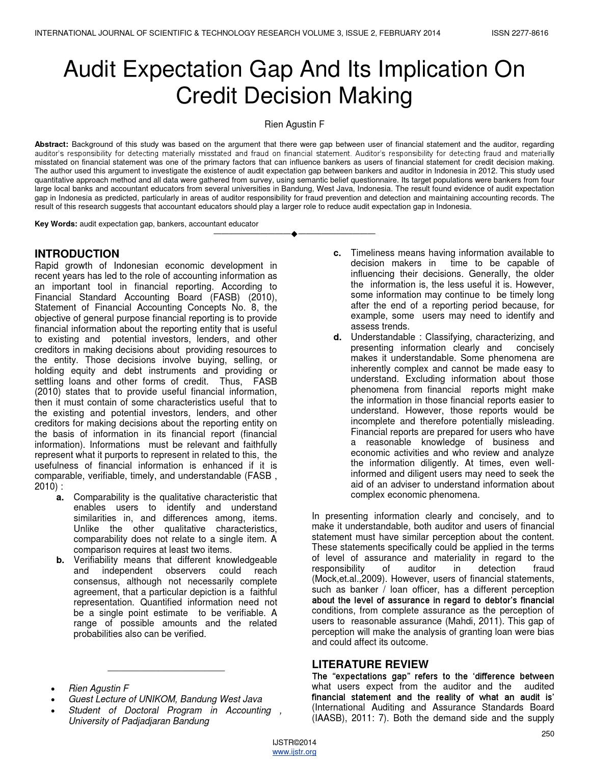 financial implication of decision The impact of finances on how businesses make decisions fills books and is an area of study for business schools a cursory review shows a few primary types of decisions that hinge on a company's financial health.
