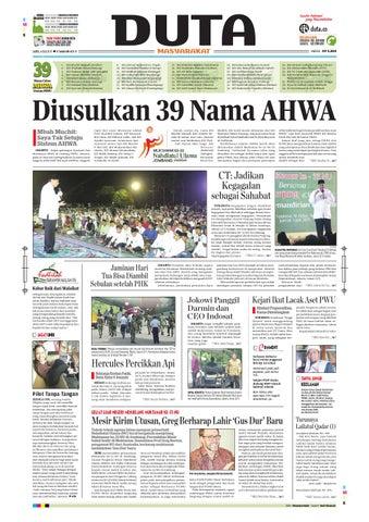 harian duta masyarakata edisi sabtu 4 juli 2015 by abdur