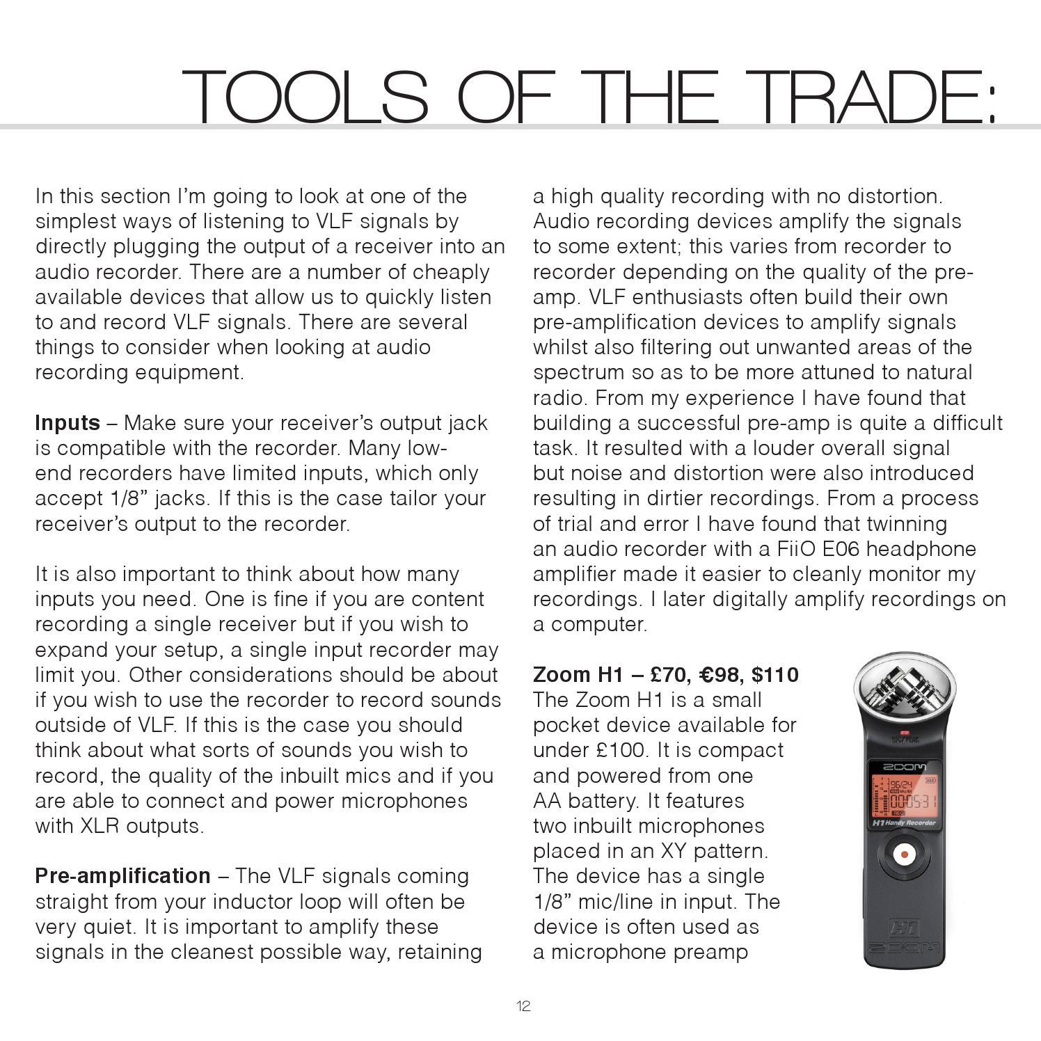 VLF: A Sound Artist's Guide, Second Edition