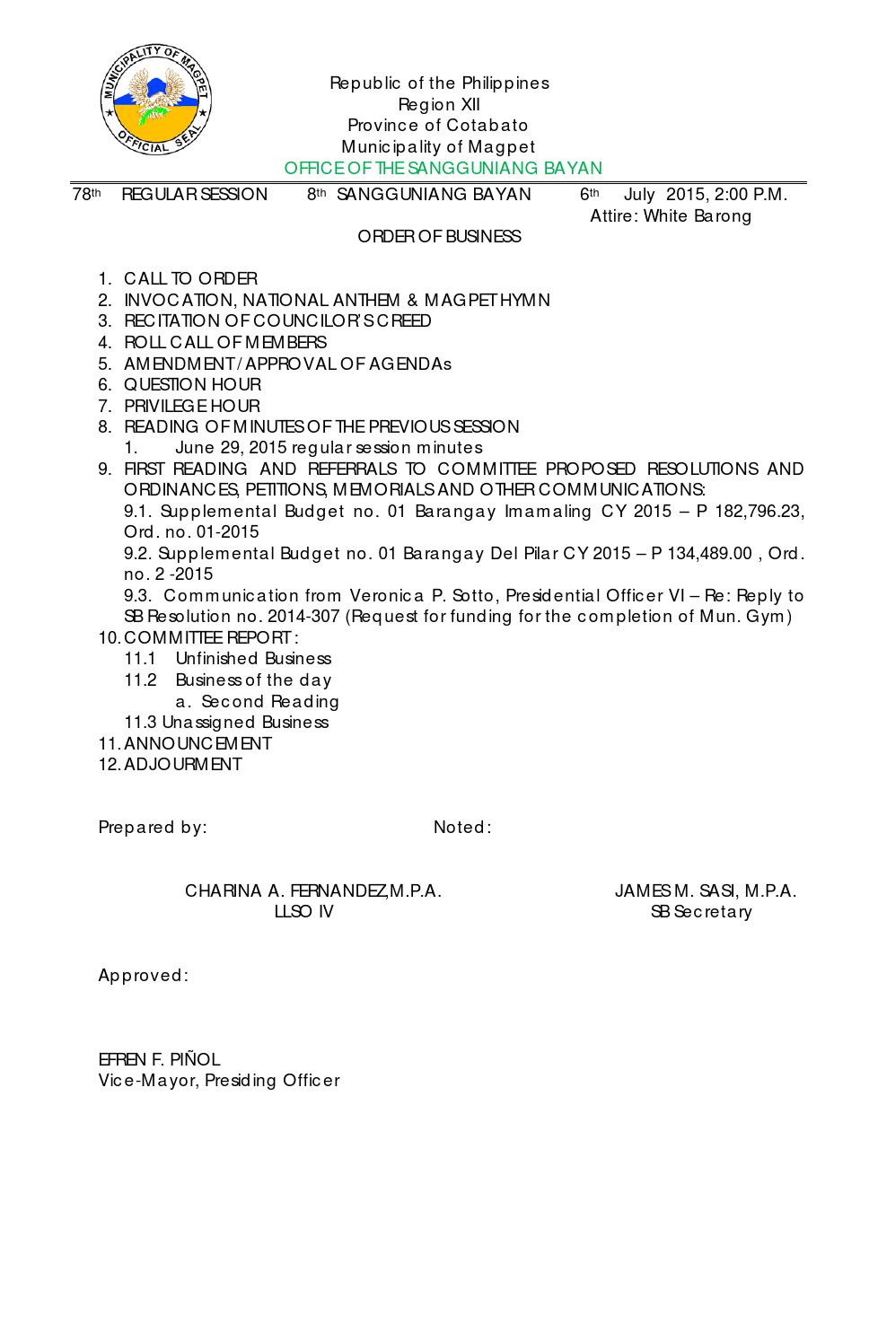 a resolution requesting the sangguniang bayan Republic of the philippines province of bohol municipality of corella the twelfth sangguniang bayan municipal resolution no 2010 – 48 a resolution requesting.