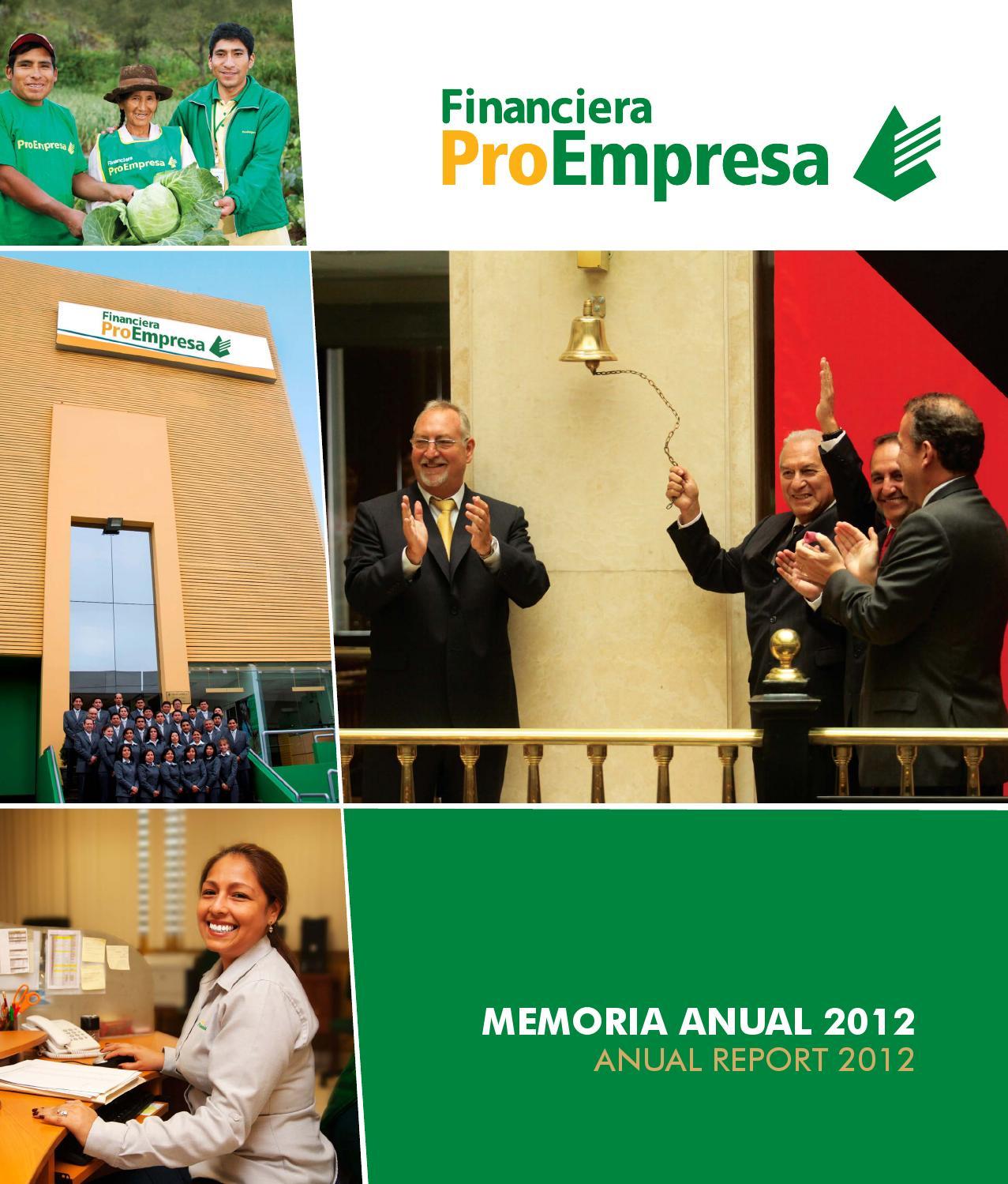 Memoria proempresa fin by jean pierre huasasquiche angulo for Memoria empresa