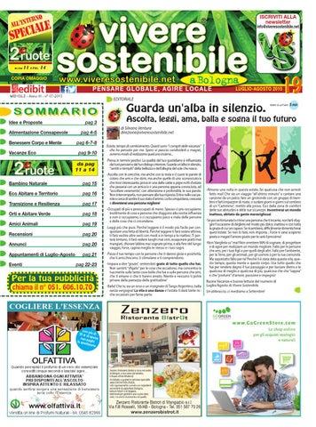 Vivere Sostenibile a Bologna n. 19 luglio+agosto by ... 5860f8d4a4a1