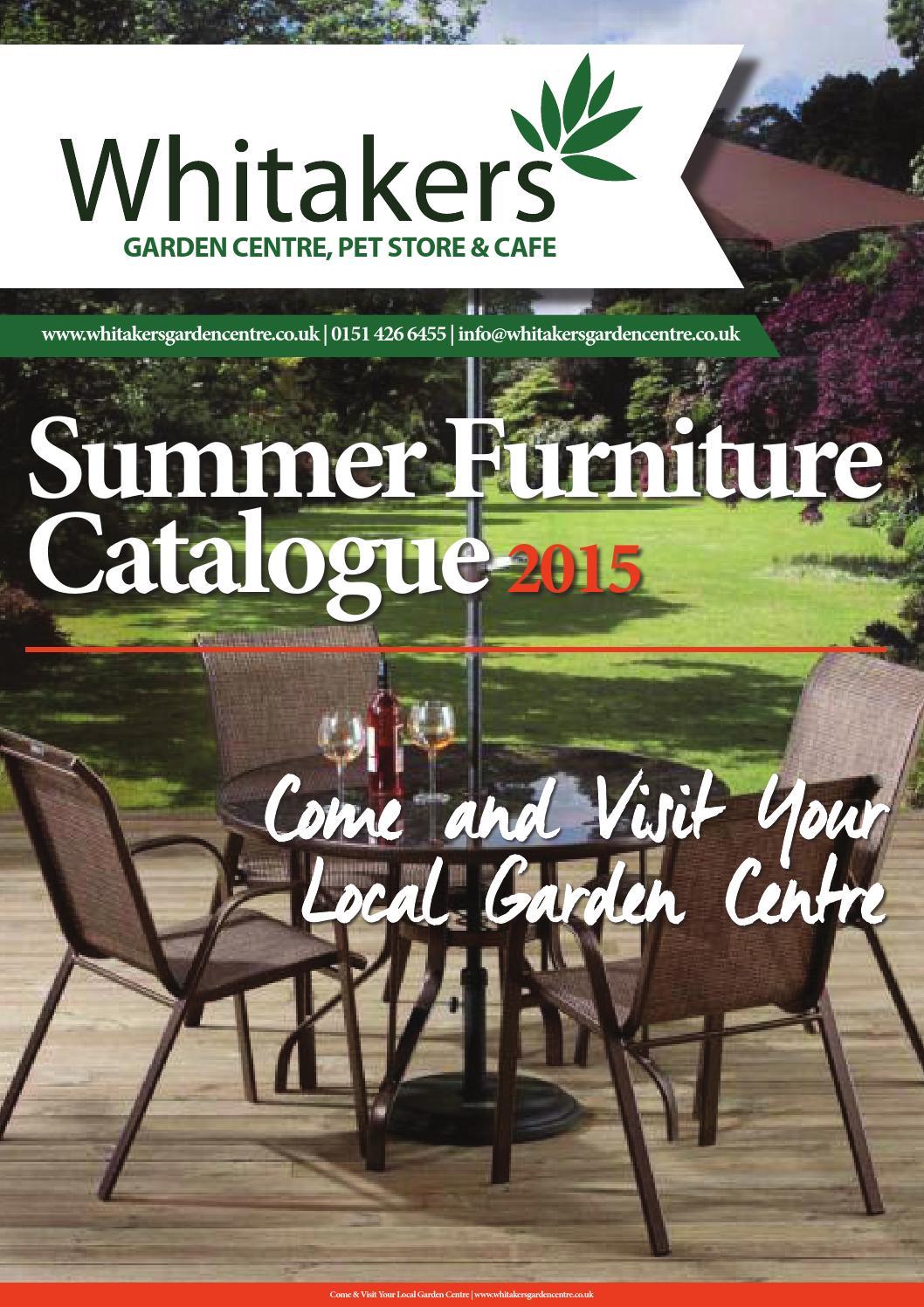 Summer Furniture Catalogue 2015 Plus Napoli Range By Ian Johnson Issuu
