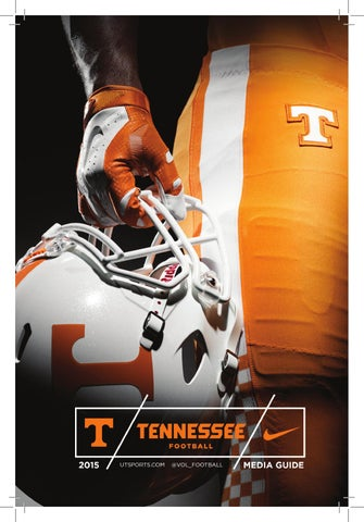 hot sale online 89bb6 53c7f 2015 Tennessee Football Media Guide by The University of Tennessee ...