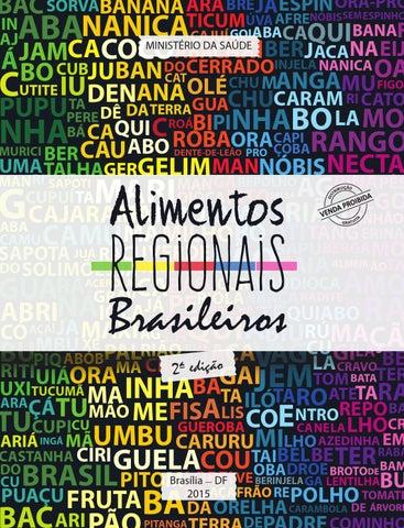 Alimentos Regionais Brasileiros by Caisan Nacional - issuu 4eaffc2279fb4