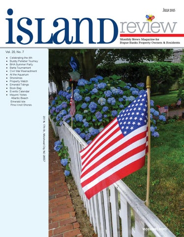 Island Review July 2015 By NCCOAST