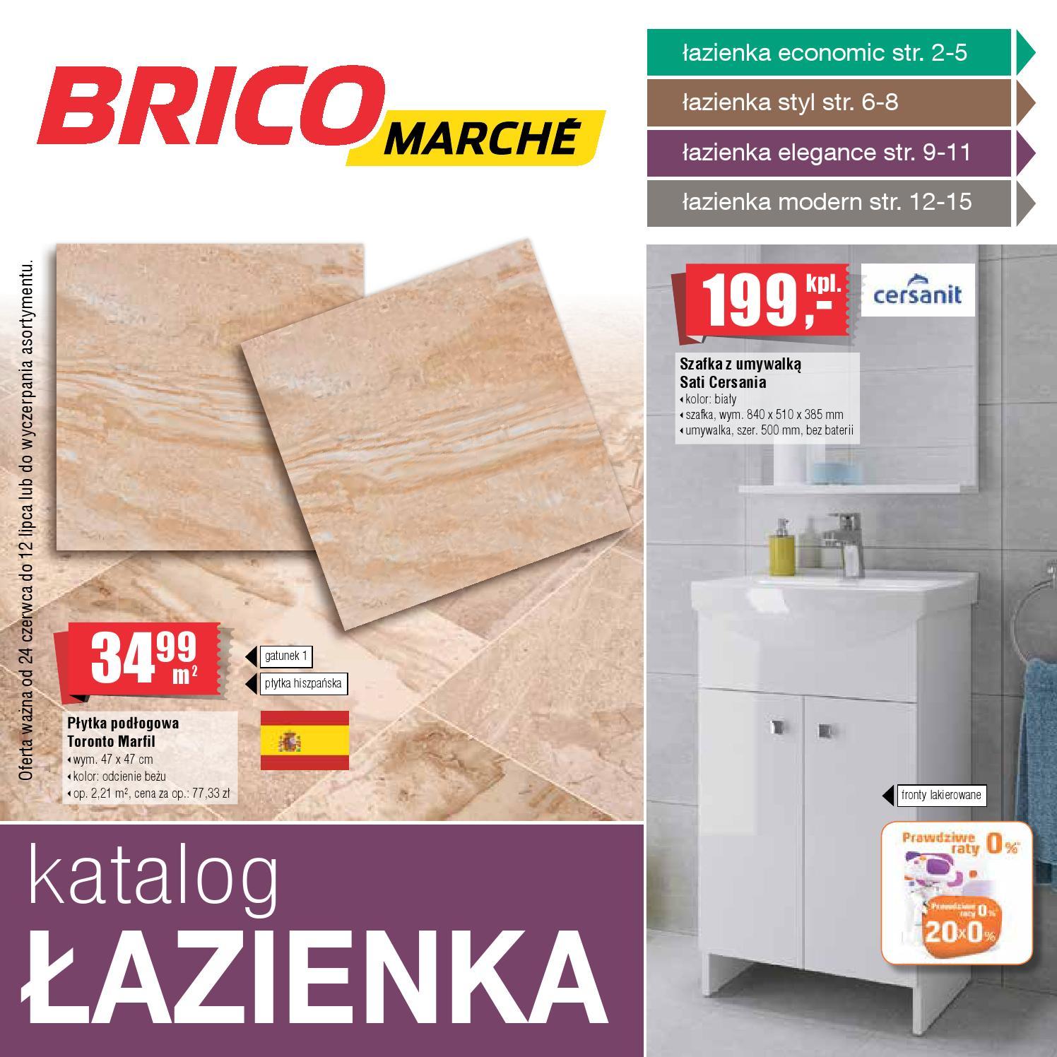 Bricomarche Katalog Lazienka 24 06 12 07 By Finmarket Issuu