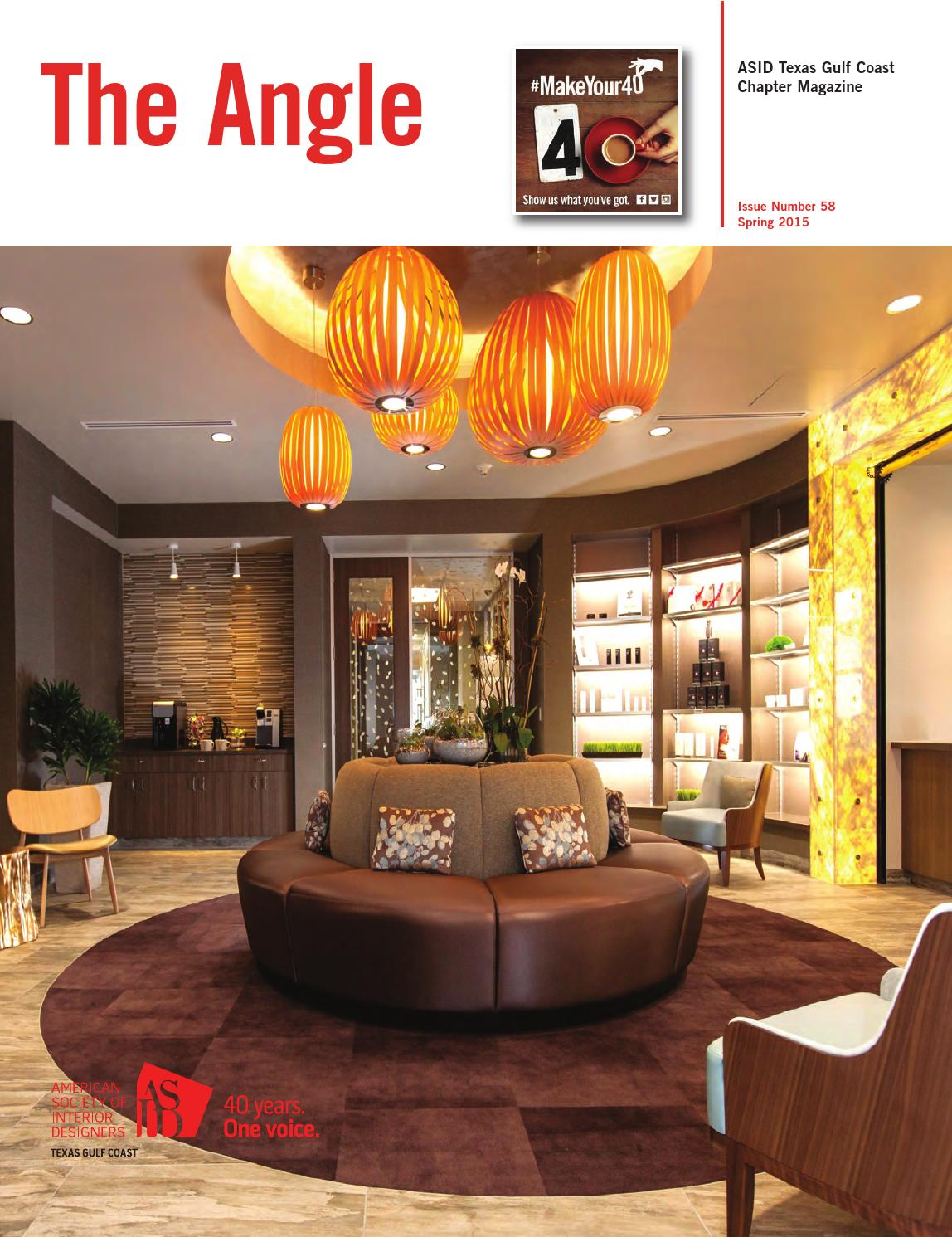 ASID Texas Gulf Coast Spring 2015 by DSA Publishing - Issuu