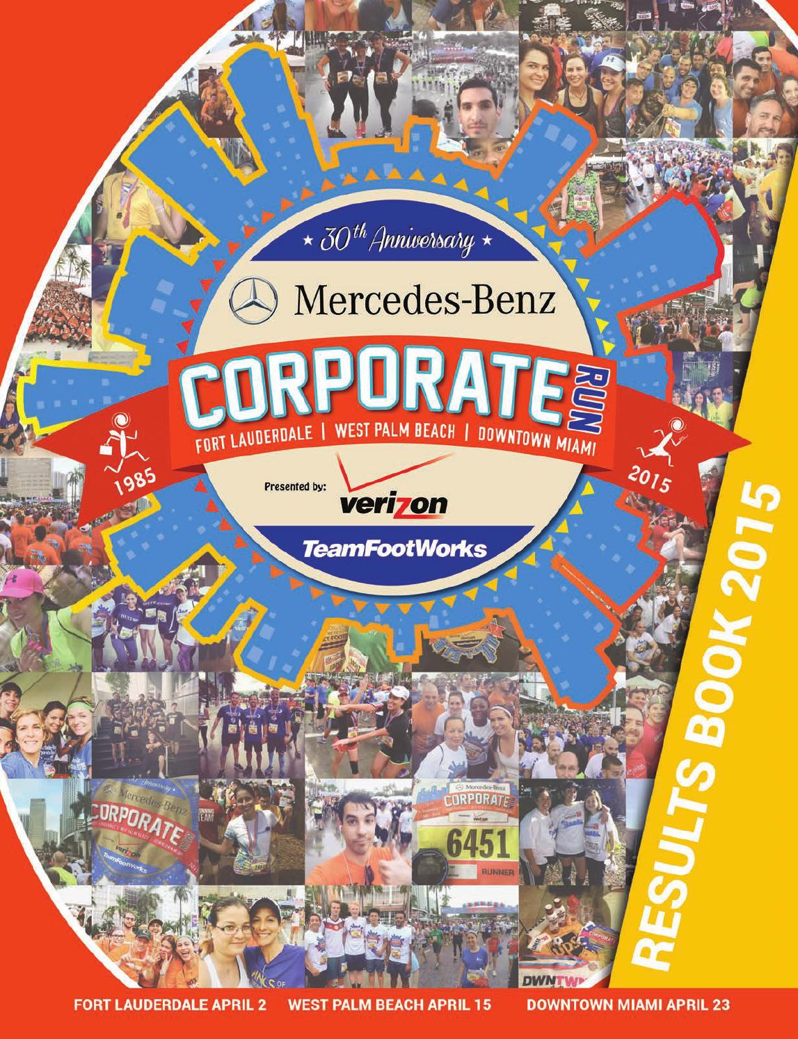 Mercedes benz corporate run results book 2015 by for Mercedes benz corporate
