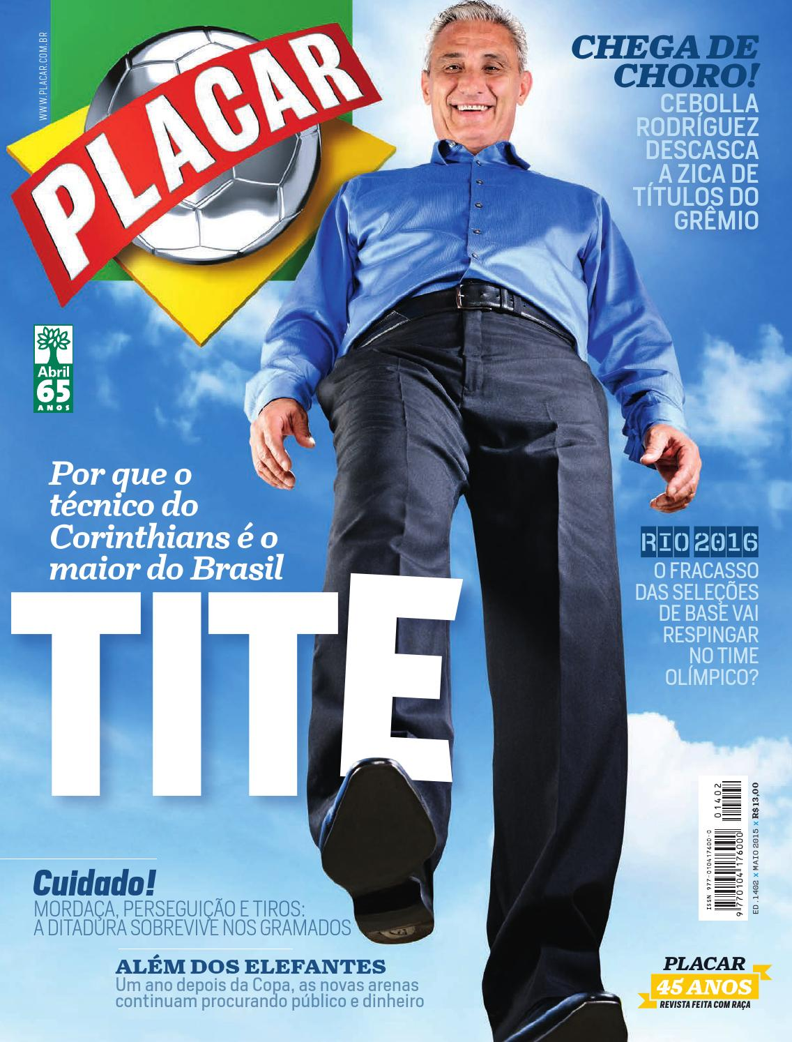 3ce08d19e6 Revista Placar – Editora Abril by Revista Placar - issuu