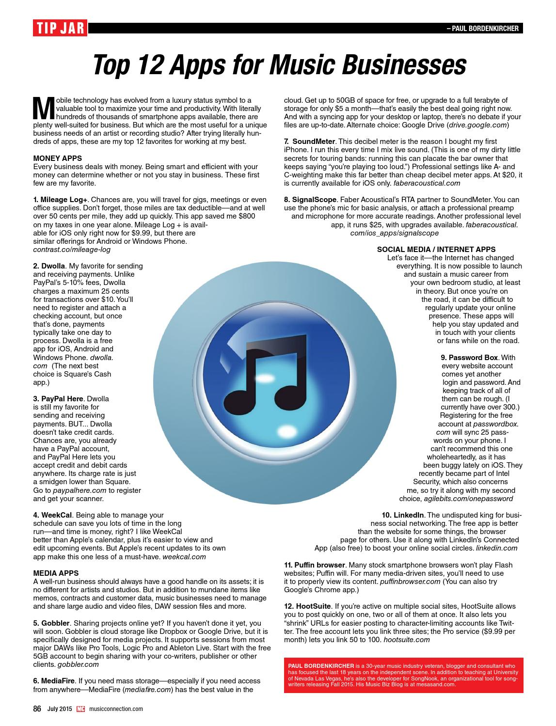 Music Connection July 2015 by Music Connection - issuu