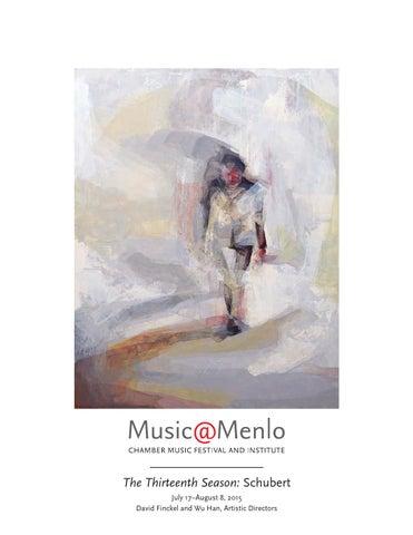 Musicmenlo 2015 Festival Program Book By Claire Graham Issuu