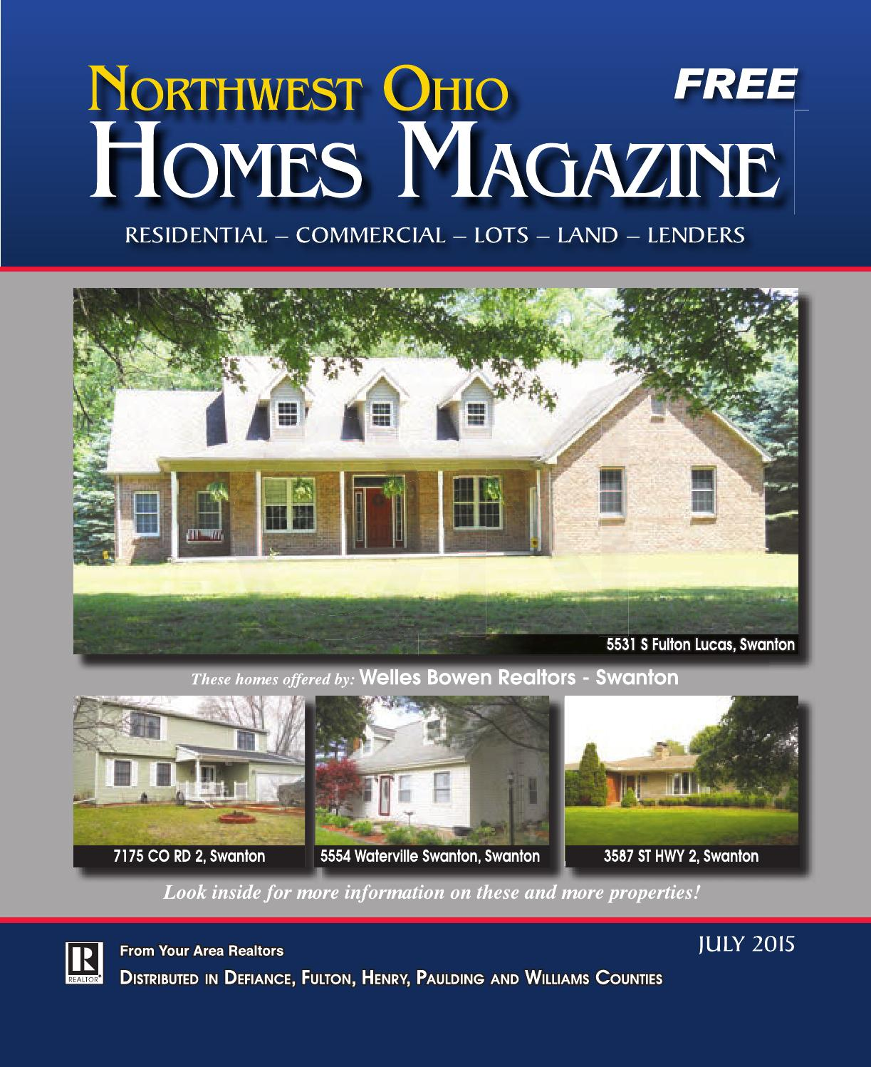 Northwest ohio homes magazine july 2015 by gatehouse media for Home builders in northwest ohio