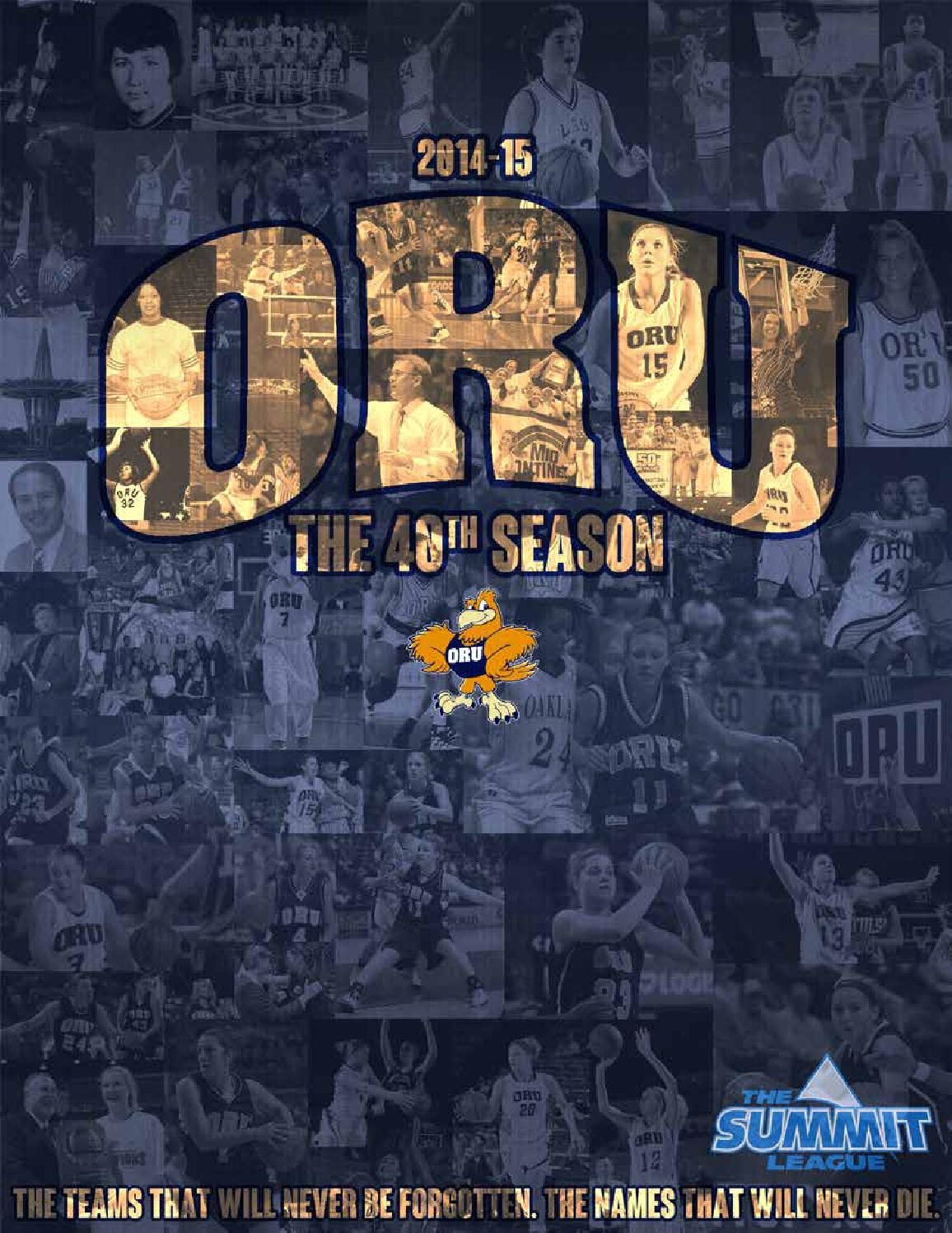 b180f1113e78d4 2014-15 ORU Women s Basketball Media Guide by ORU Athletics - issuu