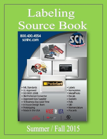 Labeling Source Book By Federal Buyers Guide Inc Issuu