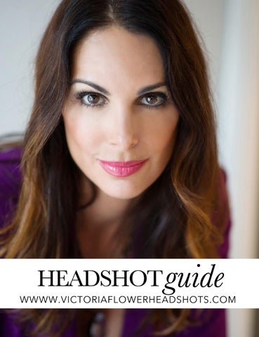 VICTORIA FLOWER PHOTOGRAPHY HEADSHOT PRICING GUIDE by Victoria