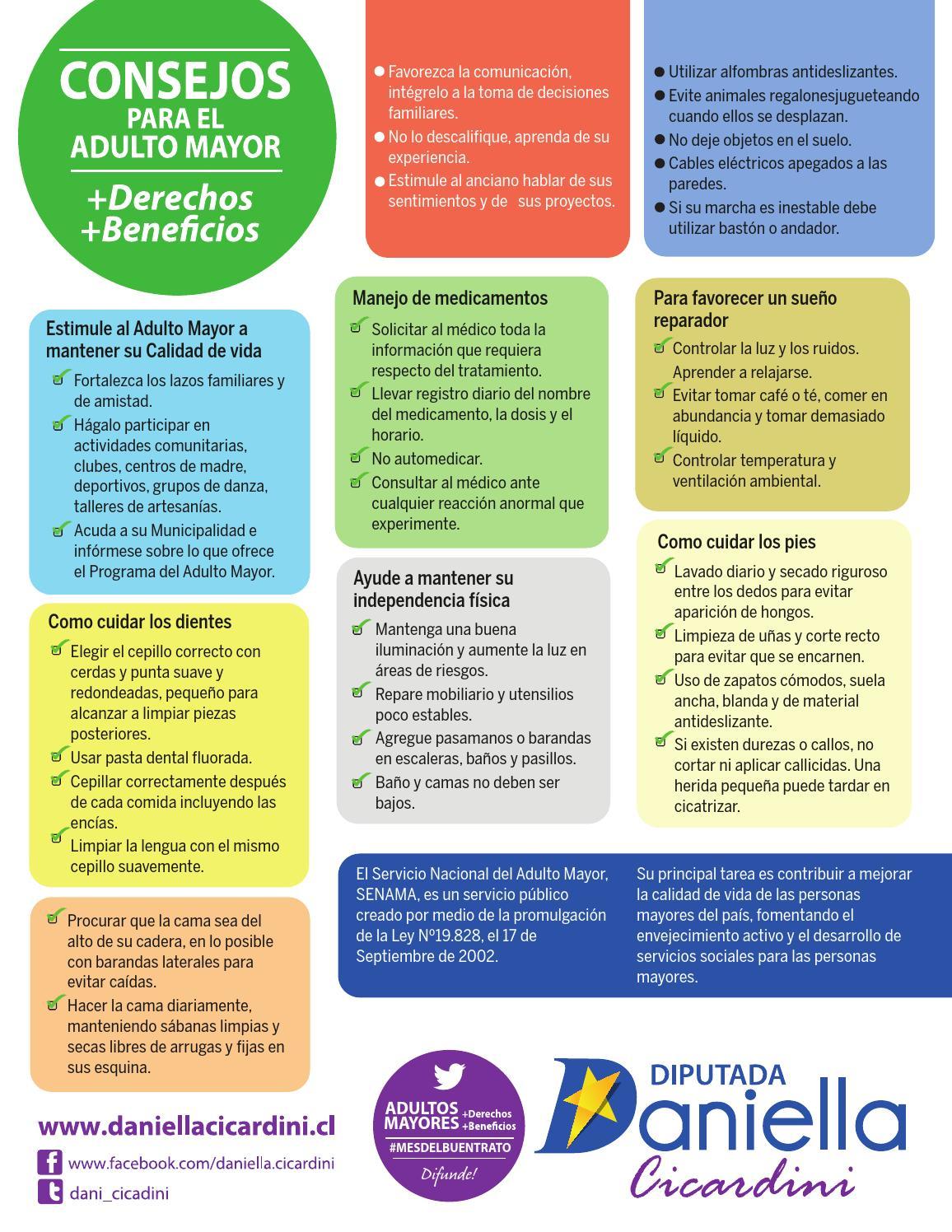 Consejos para el Adulto Mayor by Daniella Cicardini - issuu