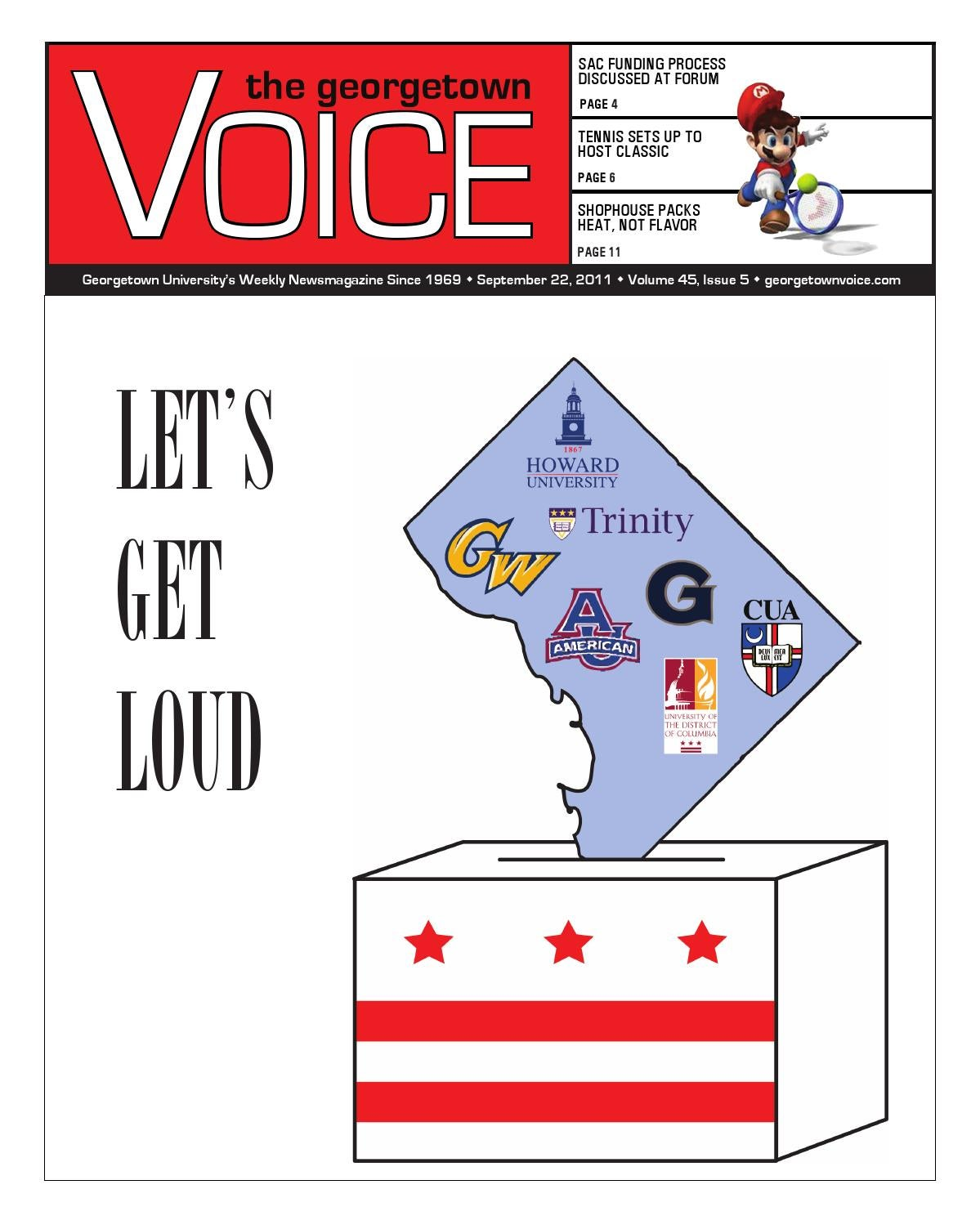 9 22 2011 by The Georgetown Voice - issuu