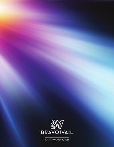 2015 Program Book By Bravo Vail Issuu