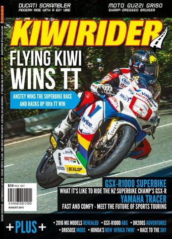 Kiwi Rider Magazine Aug 2015 By Kiwi Rider Magazine Issuu