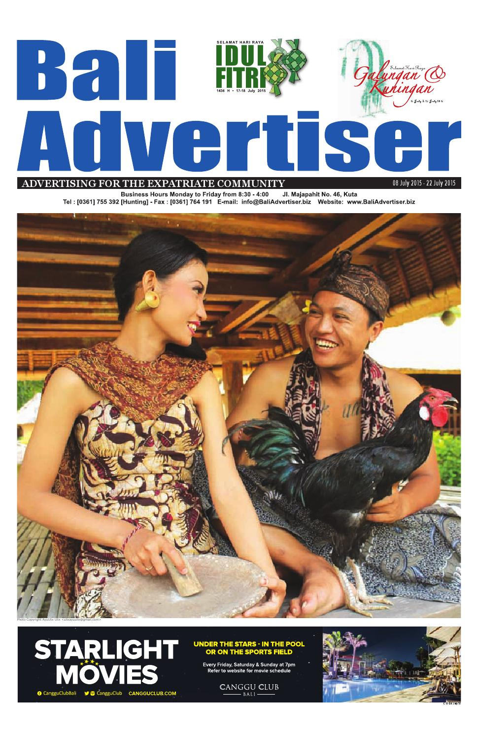 Ba 08 July 2015 By Bali Advertiser Issuu Baruu Map Voucher 25juta Bonus 50k