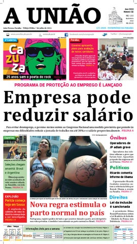 Jornal A União - 07 07 2015 by Jornal A União - issuu 77d11d0e325f2