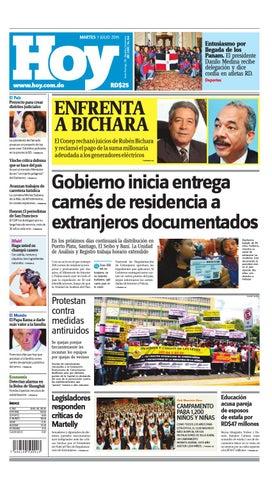 the latest 02763 72c80 Periódico martes 7 de julio, 2015 by Periodico Hoy - issuu