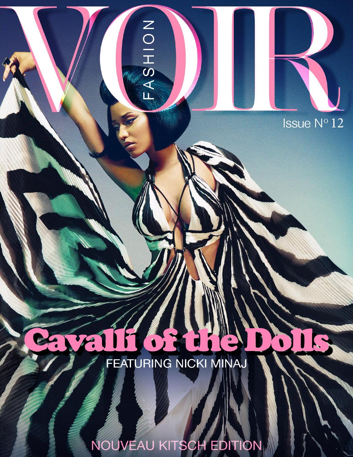 Fashion Magazines Look To Familiar Faces For Cover Models: Voir Fashion Issue 12 : Cavalli Of The Dolls