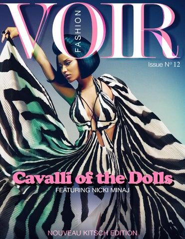 8625490f4df1b Voir Fashion Issue 12   Cavalli of the Dolls - Feat Nicki Minaj by ...